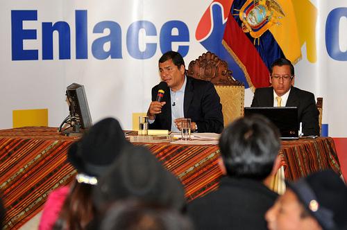 Ecuador TV, órgano de propagandamashista